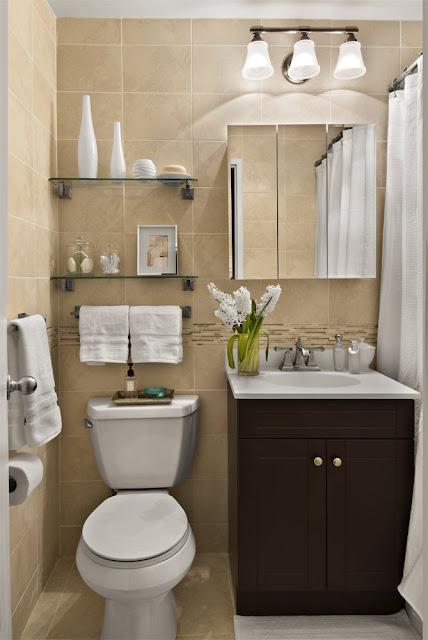 decoracao de interiores de casas pequenas e simples:Bricolage e Decoração: Ideias para Decoração de uma Casa de Banho