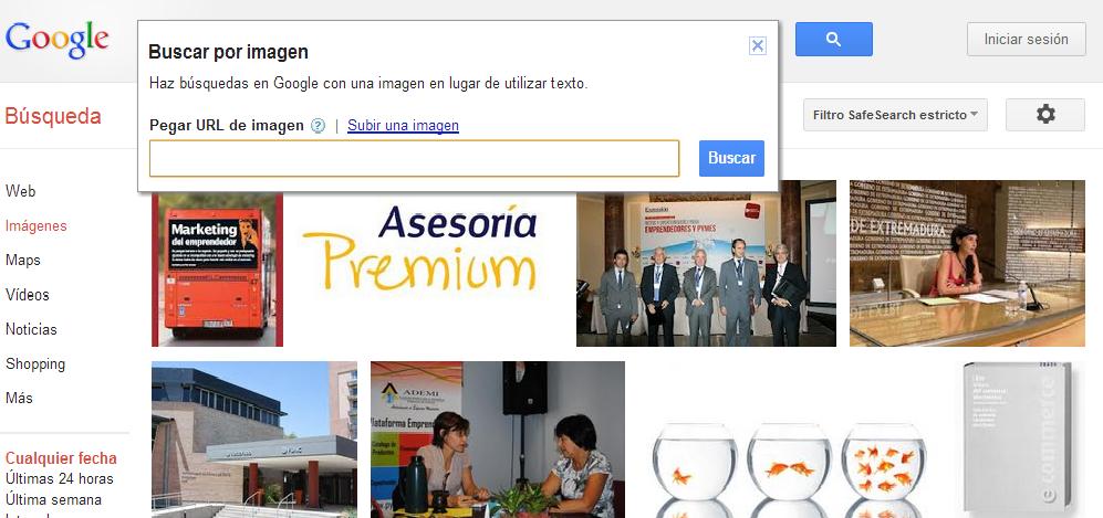 Google presenta un sistema de búsqueda mediante  - Busqueda Con Imagenes