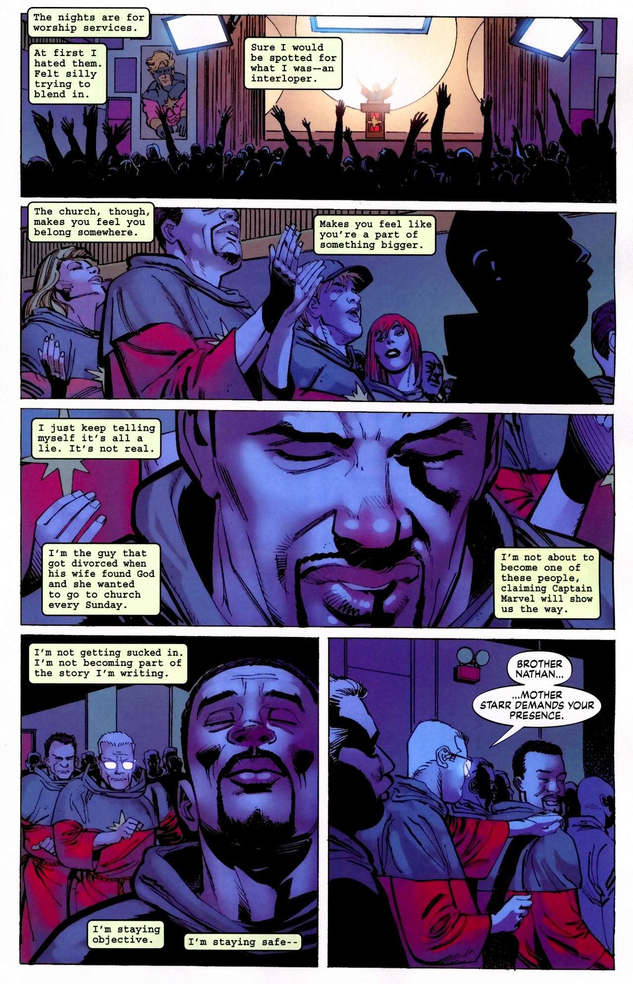 Read online Secret Invasion: The Infiltration comic -  Issue #5 - 11