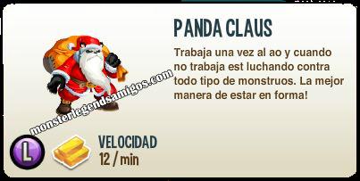 imagen de la descripcion del monstruo panda claus