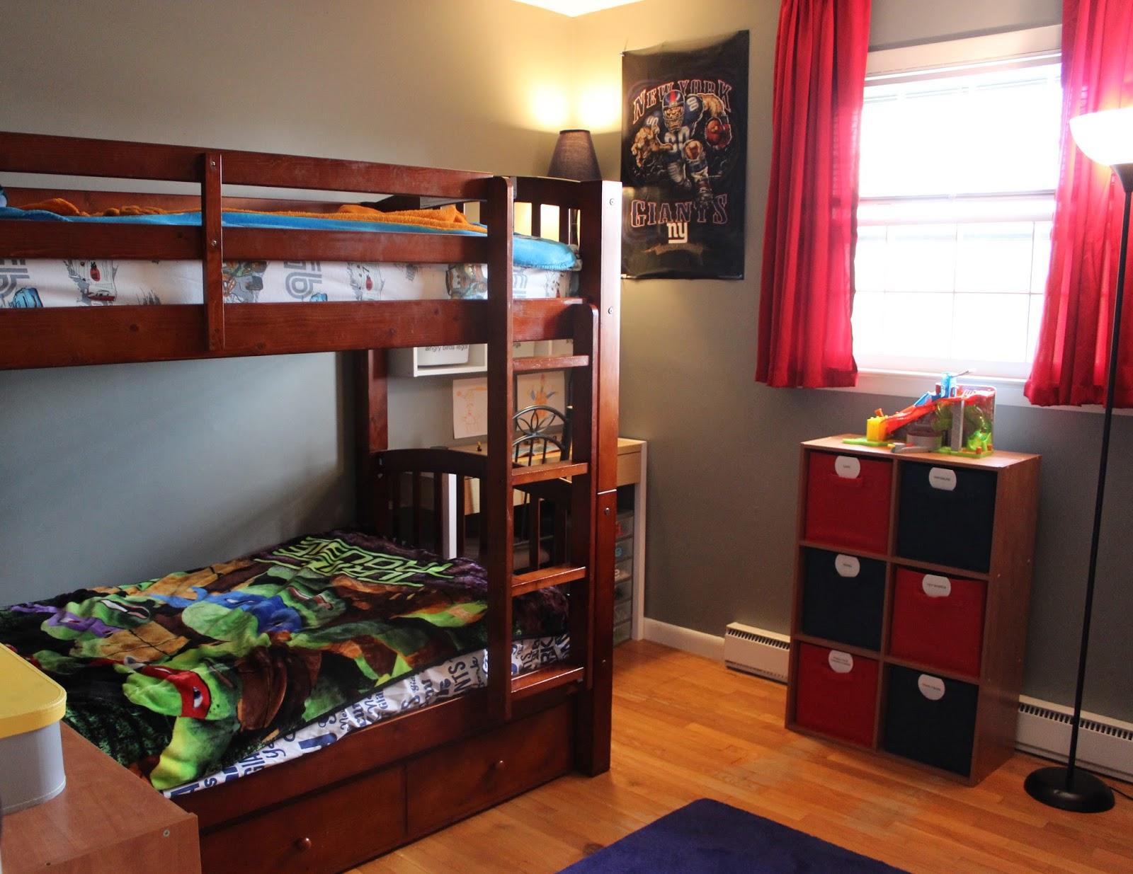 Organizing For Six Clean Organized Boys Room