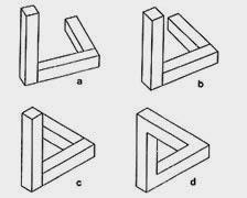 Ilusionario el tri ngulo imposible - Figuras geometricas imposibles ...
