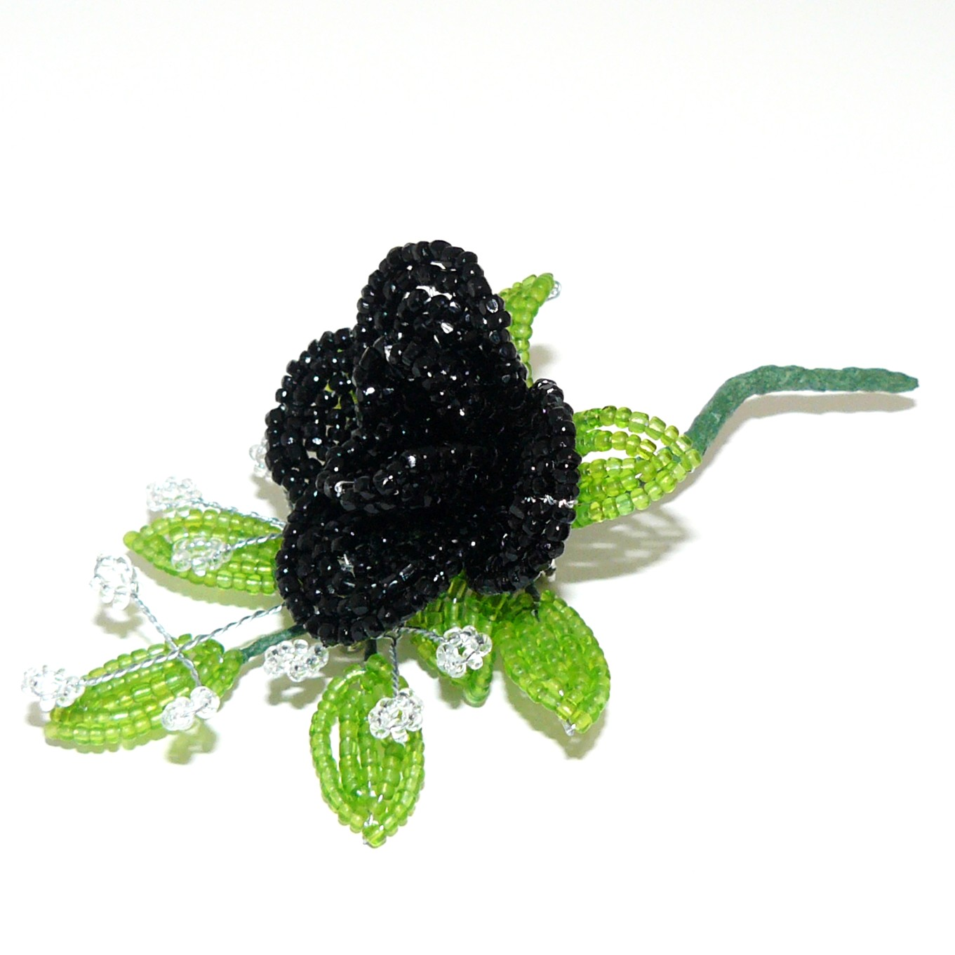 Craftymoose crafts a rose of a different color for Do black roses really exist