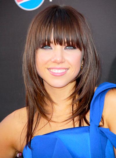 Carly Rae Jepsen Hairstyles