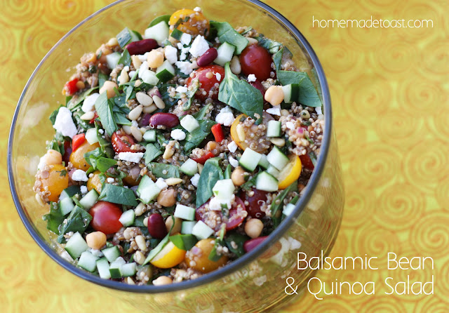 Balsamic Bean & Quinoa Salad