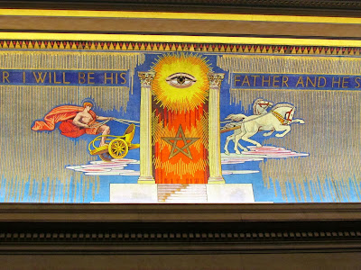 All-Seeing eys, Helios, Freemasons, five pointed star, Grand lodge, London