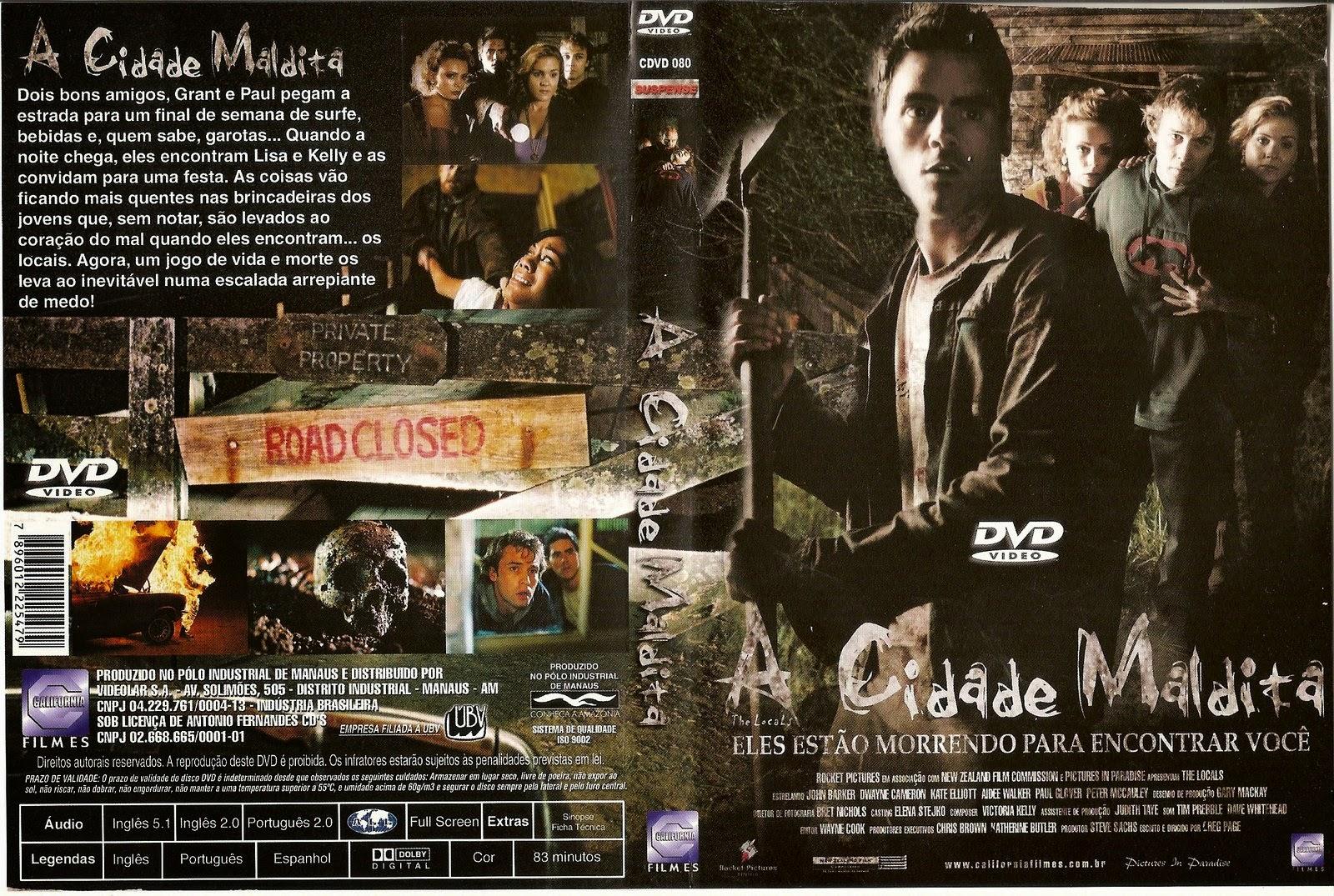 A Cidade Maldita DVD Capa