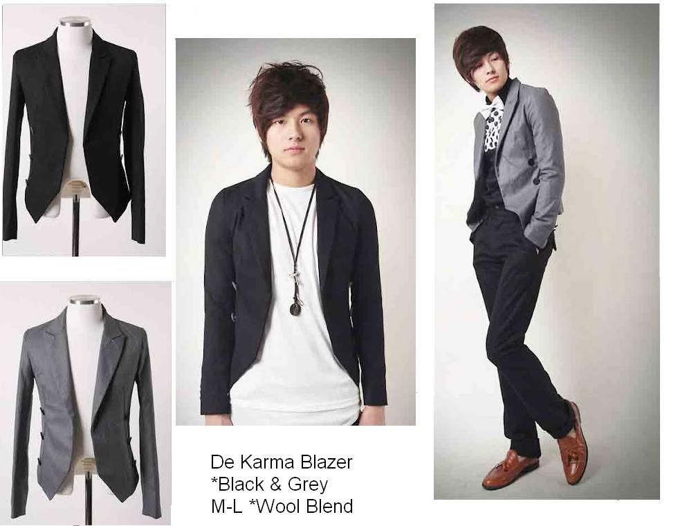Jas korea, blazer korea, men korean fashion, jas cowo korean fashion ...