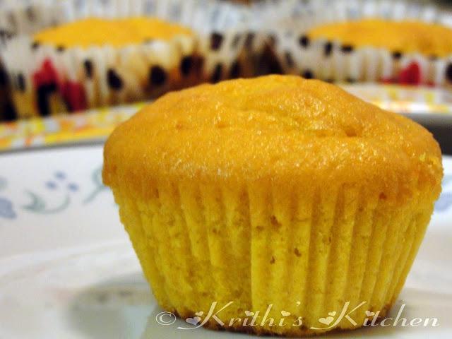 Krithi's Kitchen: Mango Cupcakes