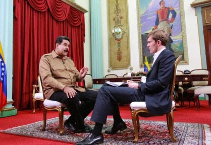 Presidente Maduro en entrevista exclusiva para The Guardian