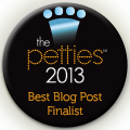 The Petties 2013 Best Blog Post Finalist