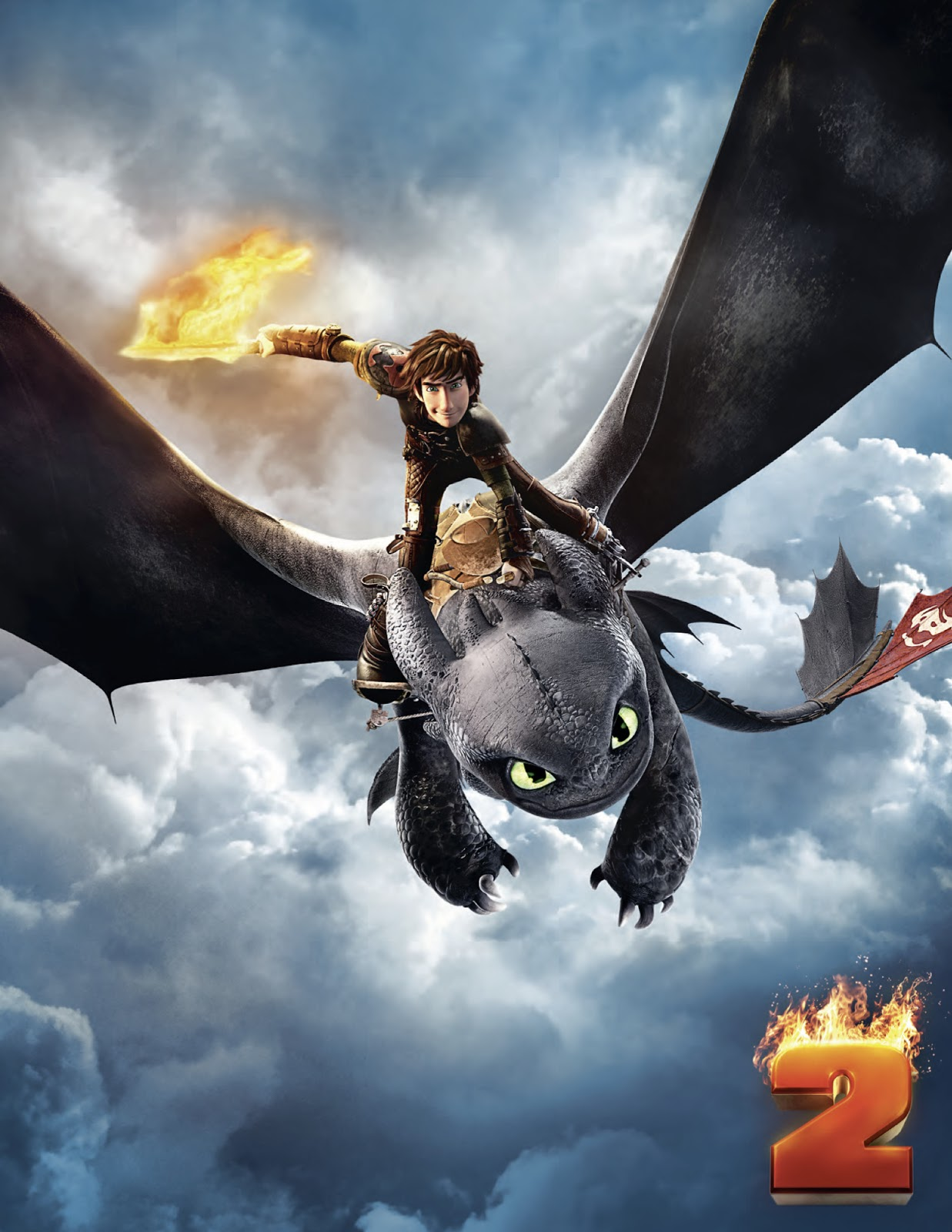 How To Train Your Dragon 2 Teaser Poster : Teaser Trailer - photo#10