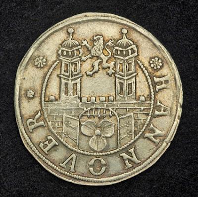 German Coins Mariengroschen Silver Coin German States Hanover