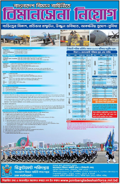 Post: Soldier Recruit at Bangladesh Air force