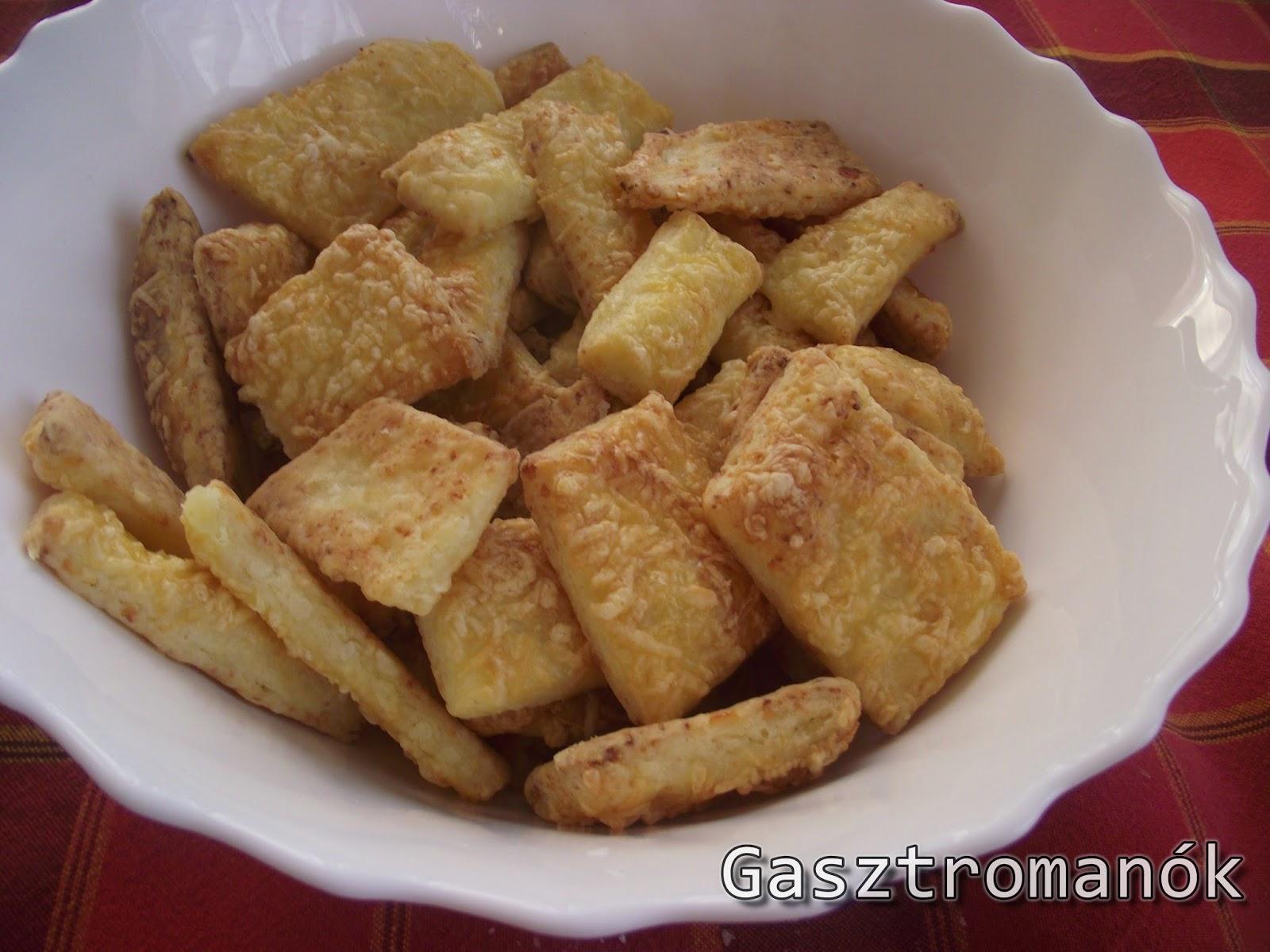 túrós sajtos rúd recept