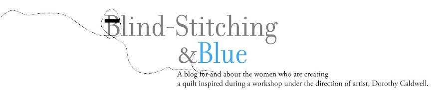 Blind-stiching & Blue