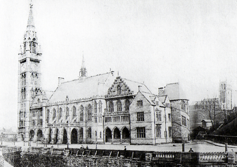 Rochdale Town Hall 1874