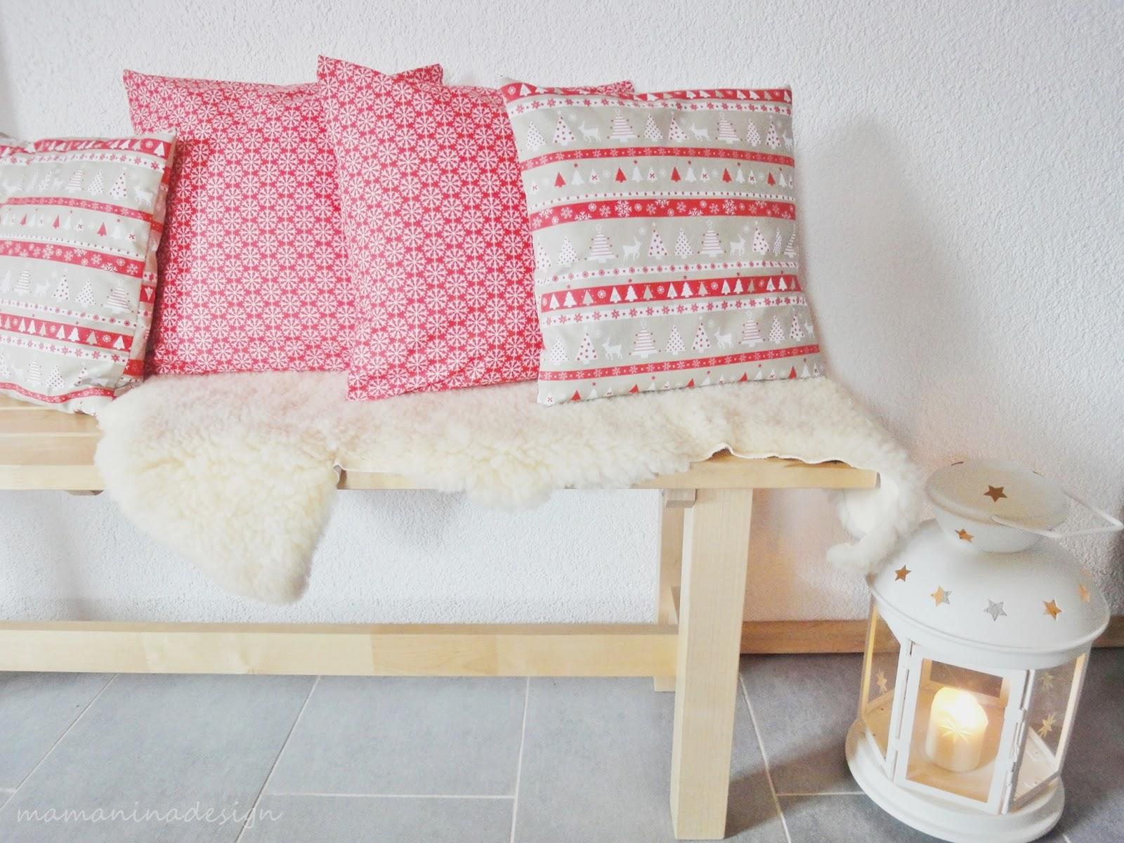 mama nina gen hte vorfreude kissen f r die k chenbank. Black Bedroom Furniture Sets. Home Design Ideas