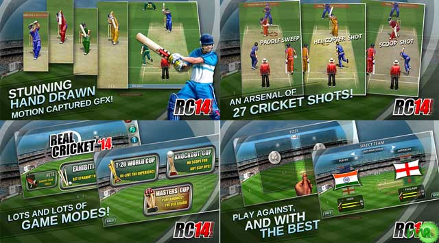 Real Cricket ™ 14 android screenshot