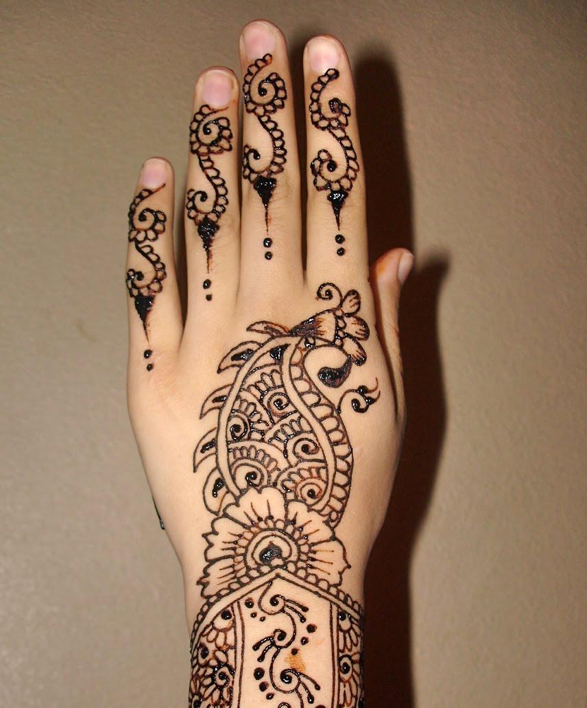 Hand Mehndi Latest Designs : Pakistani mehndi hand designs