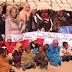 العصبة المغربية لحماية الطفولة تنظم قافلة المساعدات الإنسانية  بالجماعة القروية اكنيون