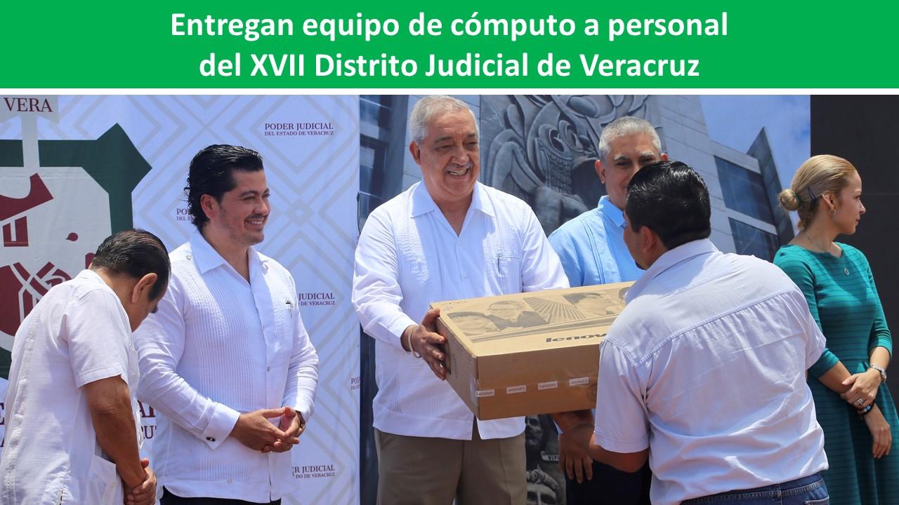del XVII Distrito Judicial de Veracruz