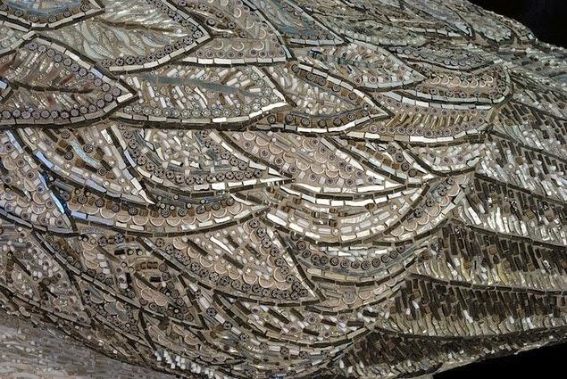 mosaic bird sculptures dusciana bravura-12