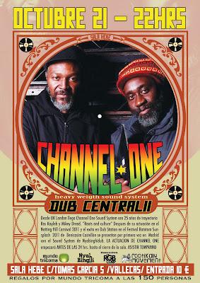 dub central, channel one, reggae madrid, dub madrid, hebe, vallekas