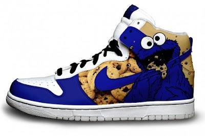 Zapatillas Nike Triki el monstruo de las galletas