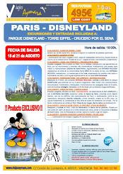 Circuito París-Disneyland LOW COST