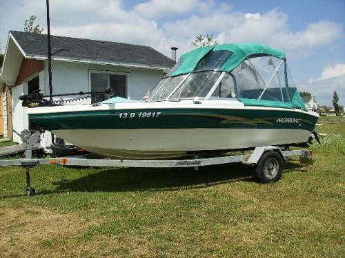 bateau de peche 16 pieds a vendre