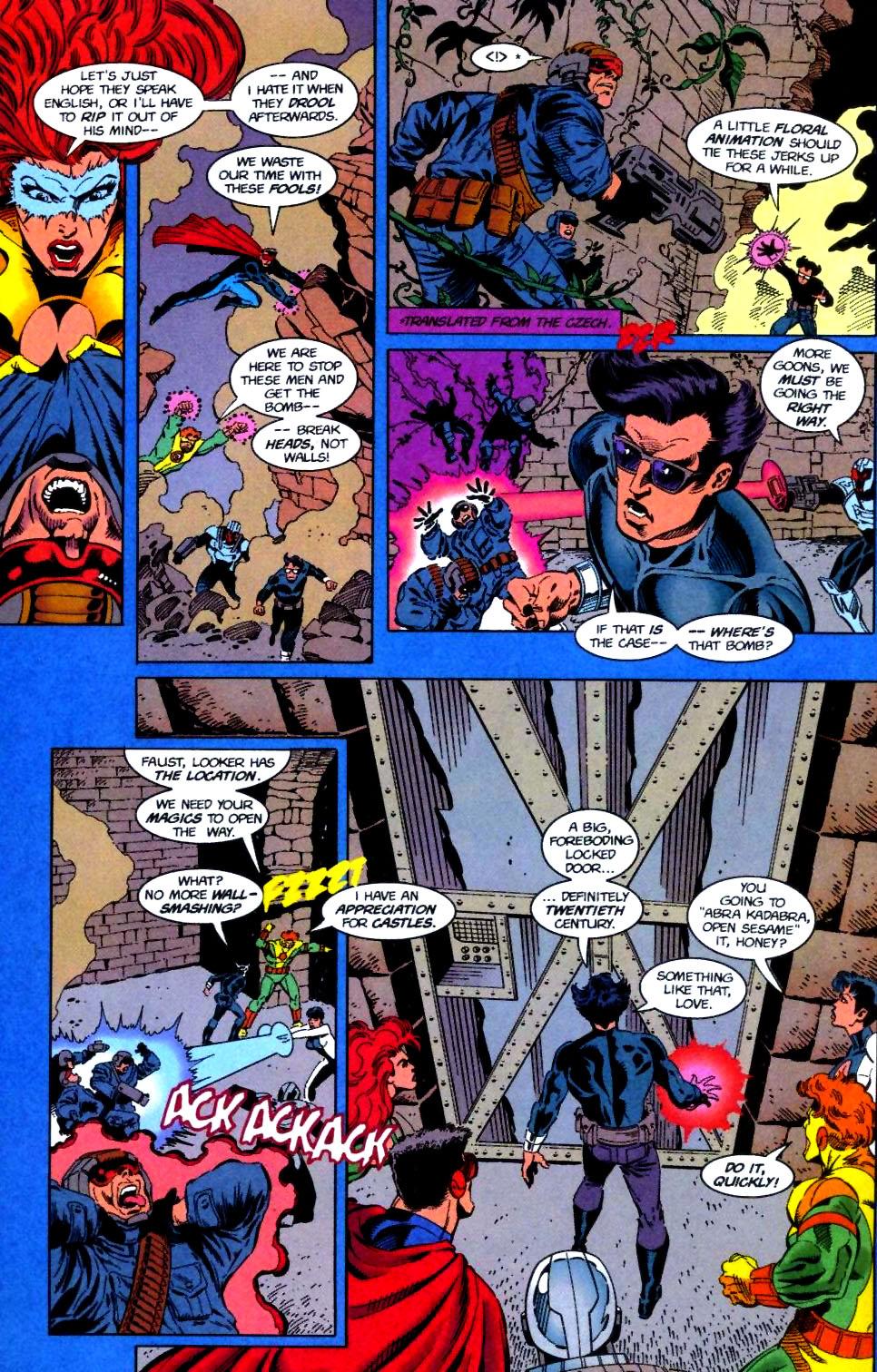 Deathstroke (1991) Issue #50 #55 - English 9
