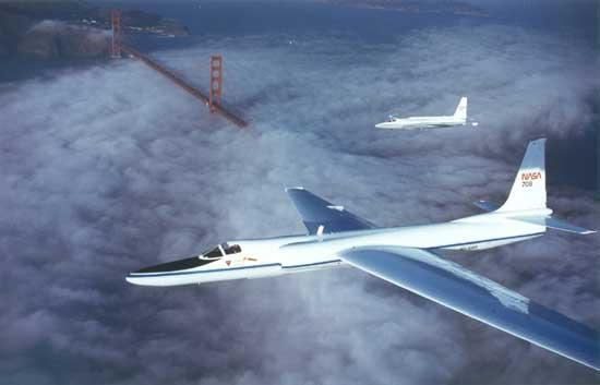 U2-2 Dragon Lady Reconnaissance Aircraft