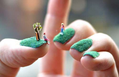 The bloomin couch wacky nail art i thought id share them with you prinsesfo Choice Image