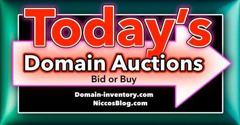 Today's Domain Auctions