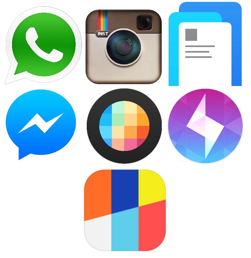 Aplicaciones móviles de Facebook