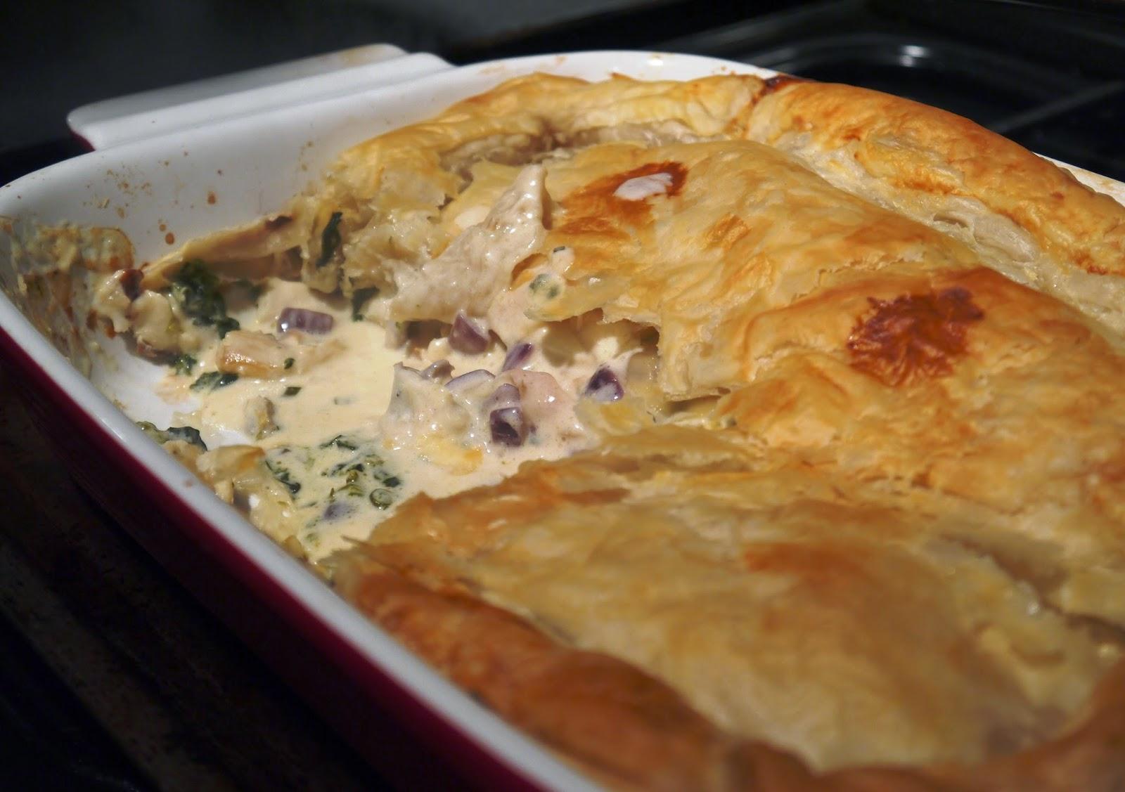 Creamy Smoked Haddock Puff Pastry Pie