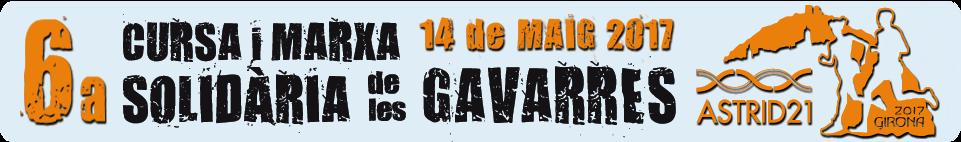6a CURSA SOLIDÀRIA de les GAVARRES ASTRID 21