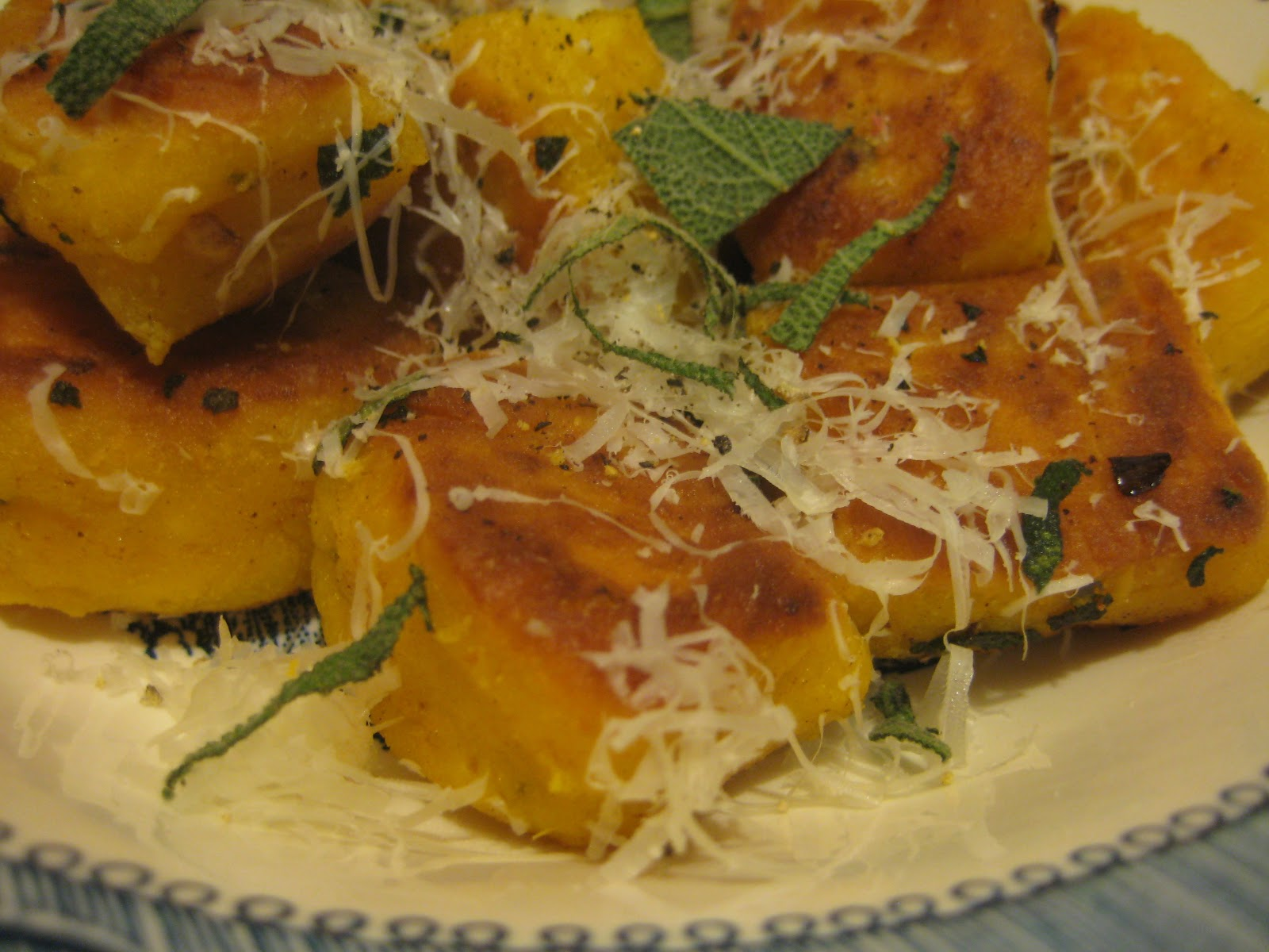 Bookcook: PAN-FRIED PUMPKIN RICOTTA GNOCCHI