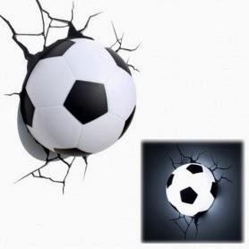 Lámpara Balón de Fútbol