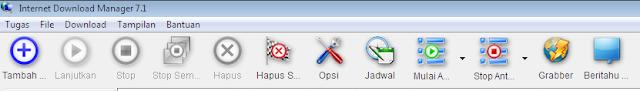 Cara Mengganti Icon/ Toolbar IDM Menjadi Keren