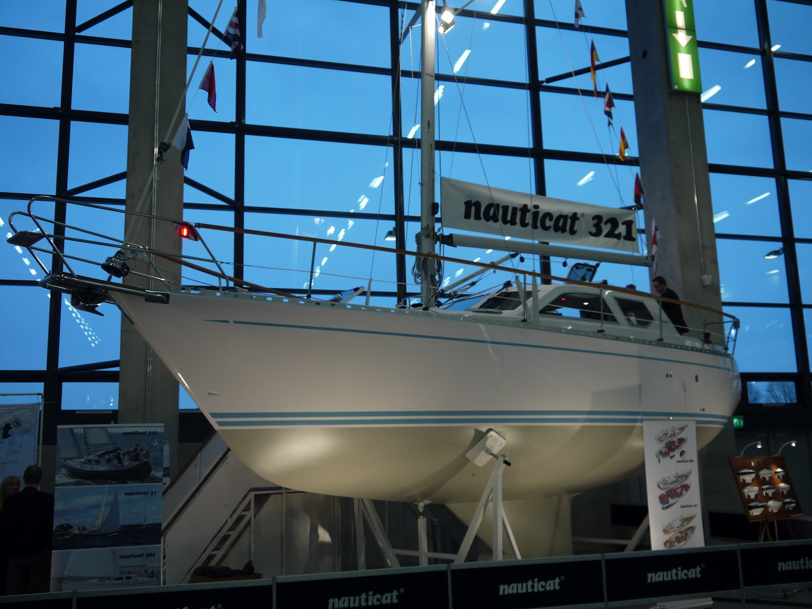 Finnish Nauticat Yachts are known of motorsailors and pilothouse sailing ...