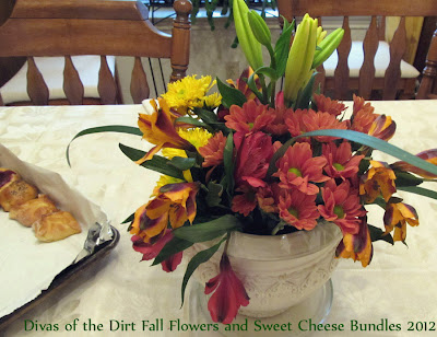 Divasofthedirt,flowers and pastries 