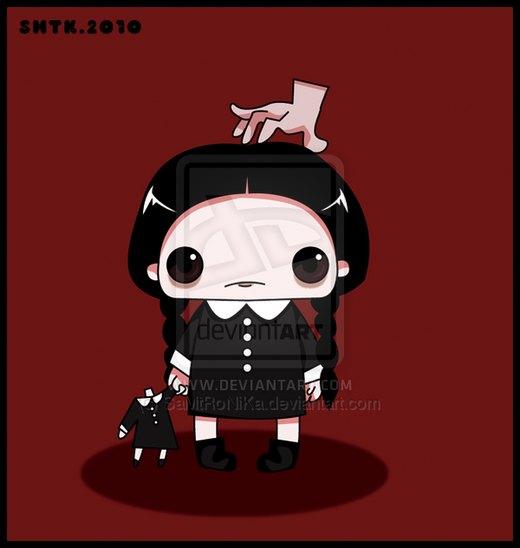 .:Wednesday Addams:. por SaMtRoNiKa
