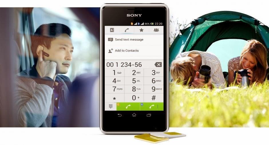 Gambar Sony Xperia E1 Dual