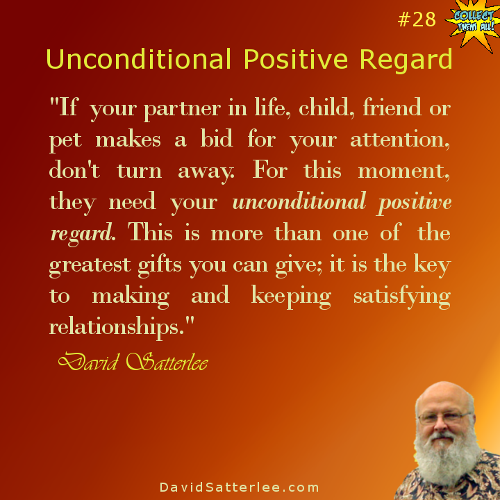 David Satterlee - Author: Unconditional Positive Regard
