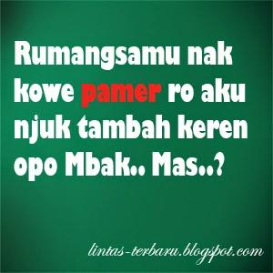 Gambar DP BBM Kata Kata Lucu Bahasa Jawa | Caption ...