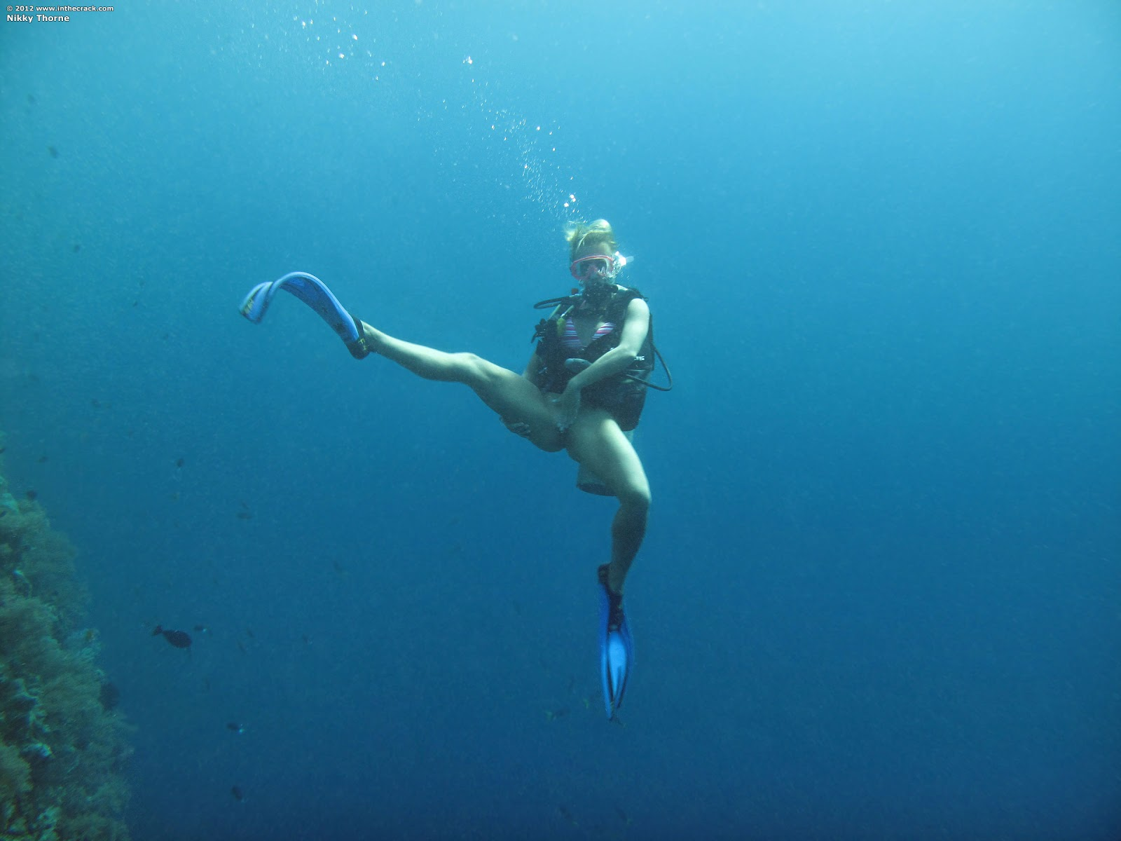 Секс под водой акваланг 19 фотография