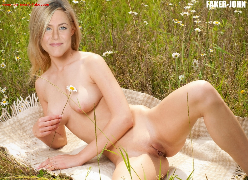 sexy fake porn aniston