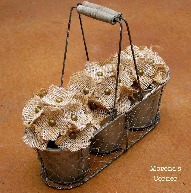 Basket Making Jute : Home confetti burlap flower bouquets